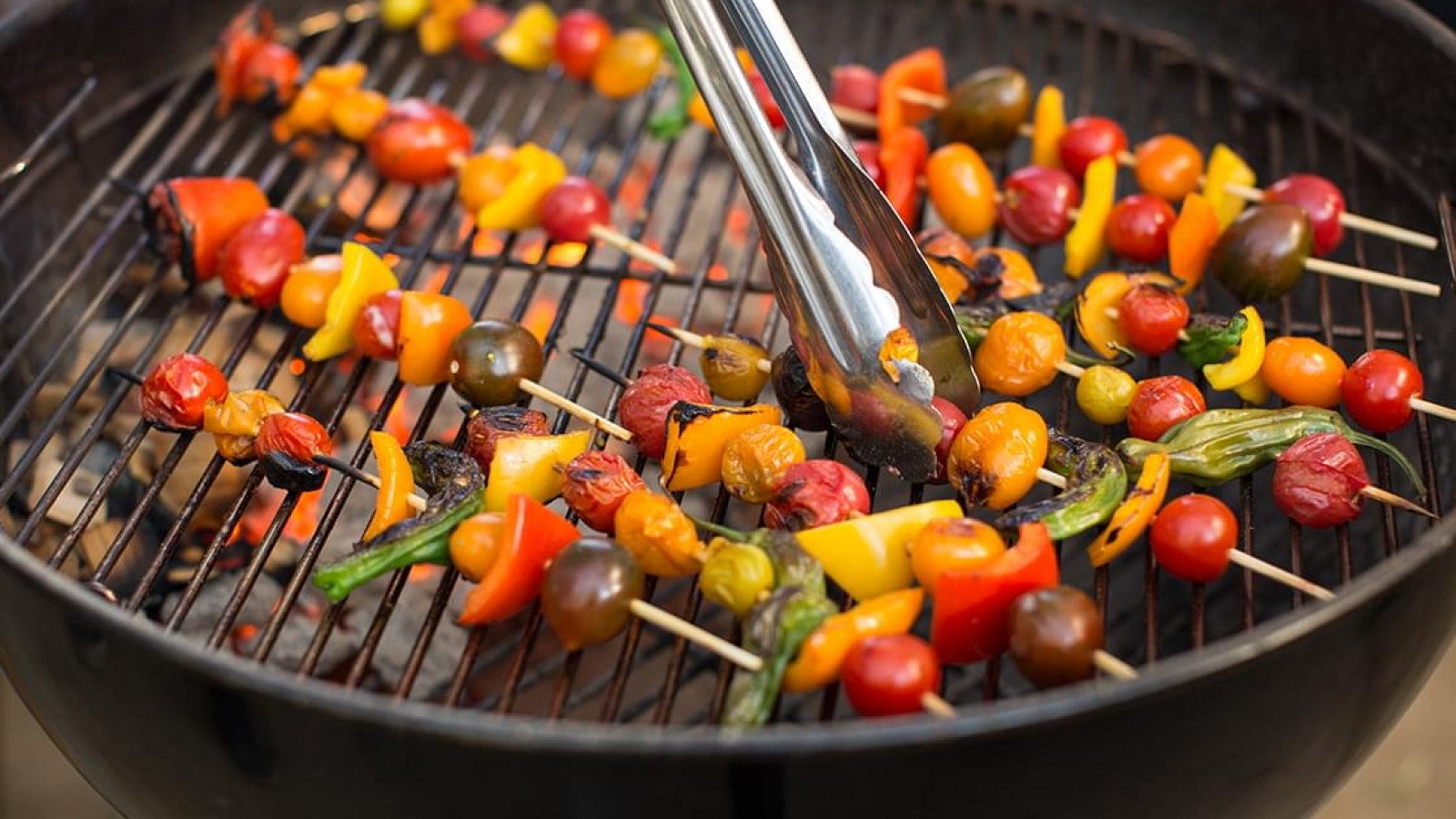 pic grilling vegettables